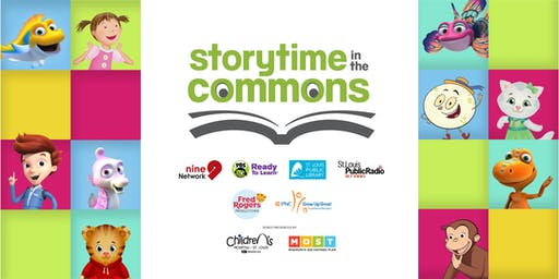 Storytime in the Commons | Be My Neighbor Day | September 2019