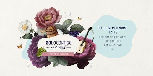 Solo Contigo Wine Fest - Edición Primavera
