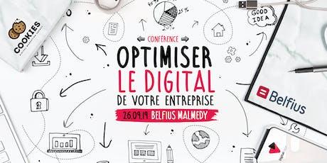 Conférence - Optimiser le digital de votre entreprise billets