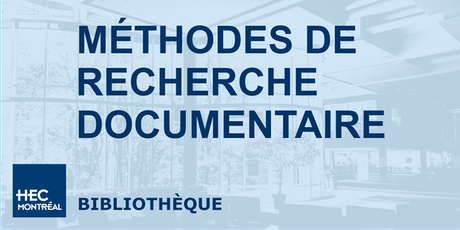 Méthodes de recherche documentaire billets