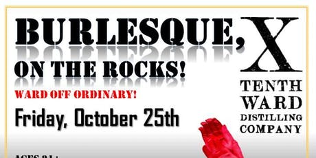 Burlesque, on the Rocks! tickets