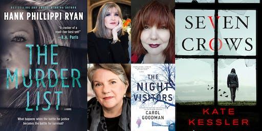 """""""Women in Suspense"""" - Hank Phillippi Ryan, Kate Kessler & Carol Goodman"""