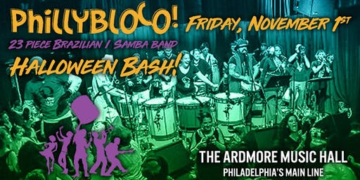 PhillyBloco (23 piece Brazilian / Samba band)