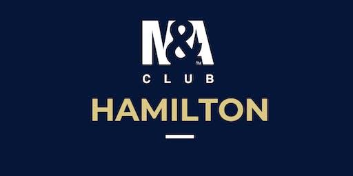 M&A Club Hamilton : Meeting September 18th, 2019