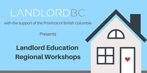 Landlord Education – Regional Workshops, Nanaimo