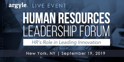 2019 Human Resources Leadership Forum