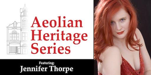 Aeolian Heritage Series: Jennifer Thorpe