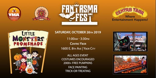 8th Annual Fantasma Fest | Little Monsters Pumpkin Patch