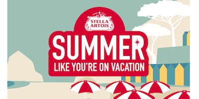 Stella Artois Summer Like You're on Vacation Boat Party