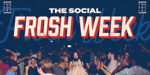 SOCIAL FROSH WEEK 2019