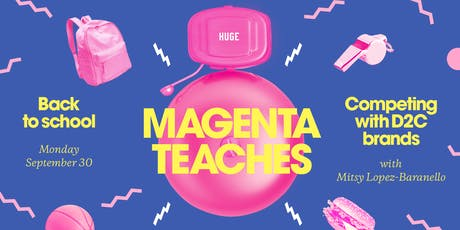 Magenta Teaches: How to Compete with DTC tickets