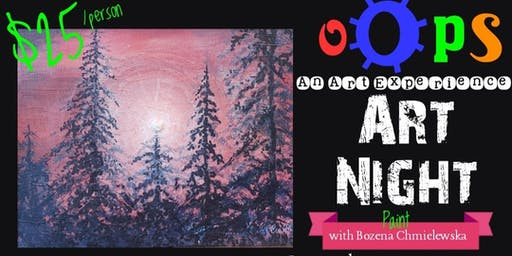 oOps Art Night with Bozena