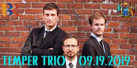 KHACHATURIAN, SHOSTAKOVICH, SCHOENFIELD: Temper Trio in Concert tickets