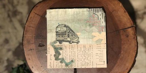 Trans-Pecos: (Snail) Mail Art in Marfa with La Ropa Vintage