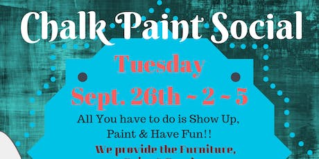 Chalk Paint Social!! tickets