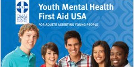 Youth Mental Health First Aid - 8 HR First Aider Course  tickets