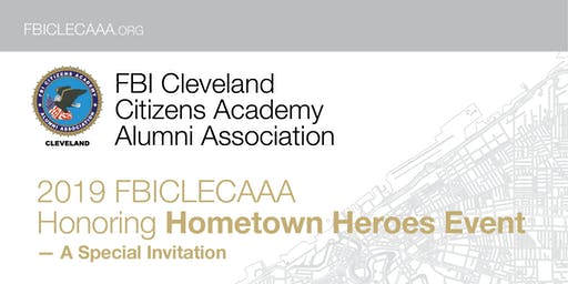 2019 FBICLECAAA Honoring Hometown Heroes Event