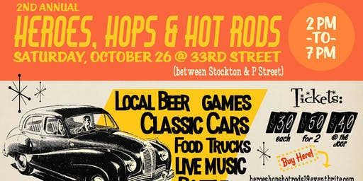 2nd Annual Heroes, Hops & Hot Rods