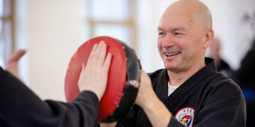 Kampfkunst Selbstverteidigung Workshop zum Kennenlernen