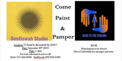 PAINT AND PAMPER