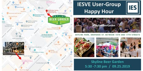 Happy Hour for IESVE Users tickets