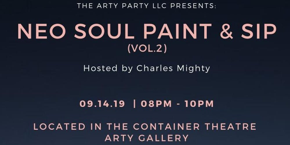 Neo Soul Paint & Sip (vol  2) Tickets, Sat, Sep 14, 2019 at