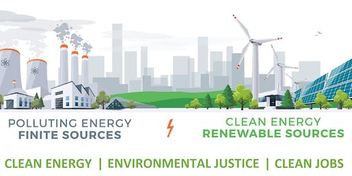 OCT 13 Community Conversation on Clean Energy, Jobs and Environmental Justice