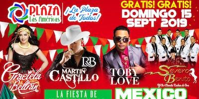 Celebracion de Independencia de Mexico y Centro America