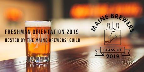 Freshman Orientation 2019: Meet Maine's Newest Brewers tickets