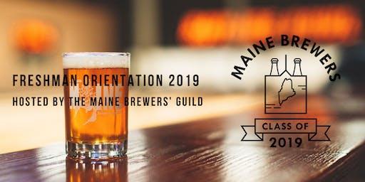 Freshman Orientation 2019: Meet Maine's Newest Brewers