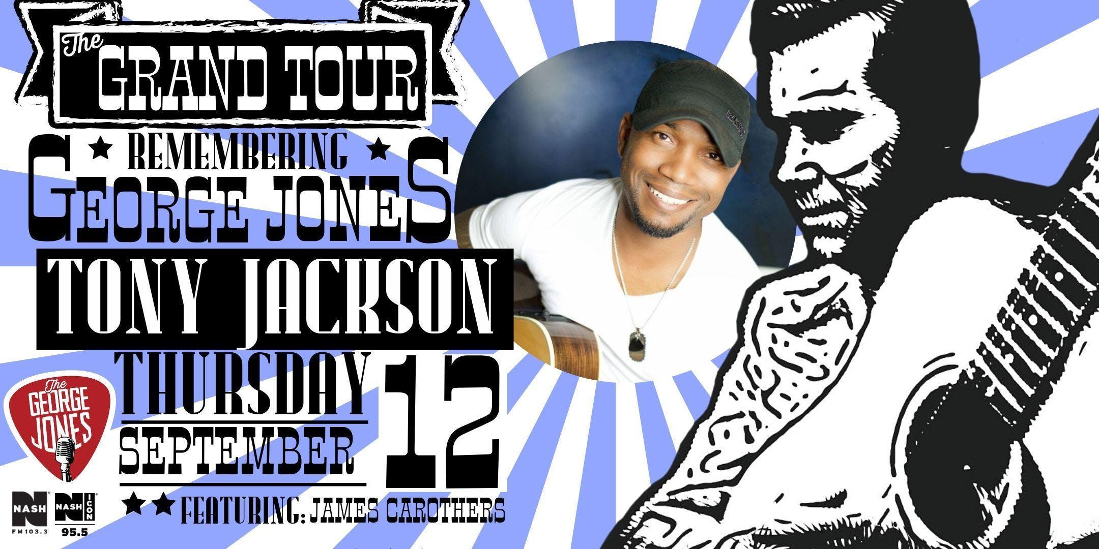 Remembering George Jones Tribute Concert Feat. Tony Jackson banner
