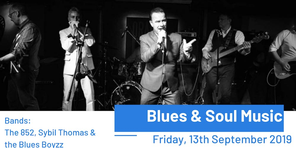 Blues & Soul Music Tickets, Fri, Sep 13, 2019 at 9:00 PM