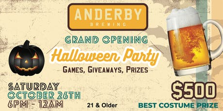 Anderby Brewing's Spooktacular Party! tickets