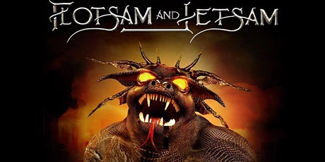 Flotsam & Jetsam w/Dead In 5 tickets