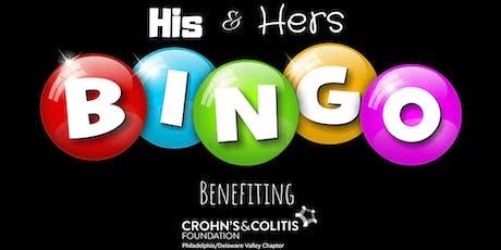 His & Hers Bingo for Crohn's & Colitis tickets