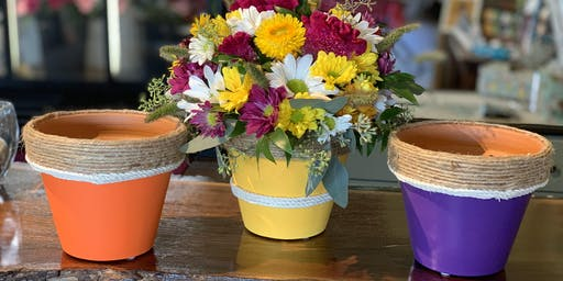 DIY Essential Oil Flower Pot Diffuser