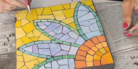 Introduction to Mosaics - Mosaïque Débutants: Céramique - Oct 19, 26 Nov 2 tickets