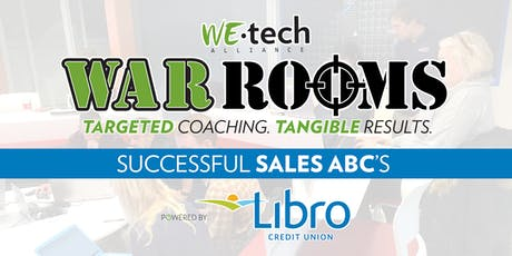 WAR ROOM powered by Libro Credit Union: Sales A.B.C.s tickets