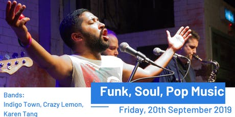 Funk, Soul, Pop Music tickets