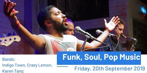 Funk, Soul, Pop Music