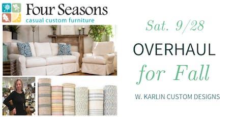 Overhaul for Fall w. Karlin Custom Designs @ Nest on Main tickets