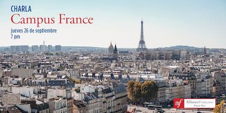 Charla Campus France - septiembre 2019 tickets