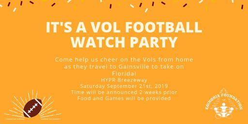 Vols vs Gators Football Watch Party