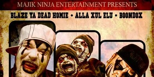 Forever Dead Tour: Blaze/ A.X.E/ Boondox