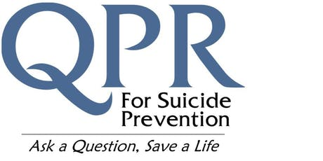 QPR: Question Persuade Refer Suicide Prevention Training tickets