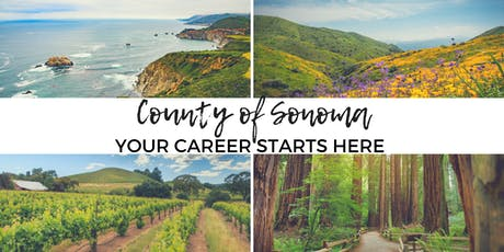 Start Here! - Learn About the County of Sonoma's Application Process at Job Link tickets