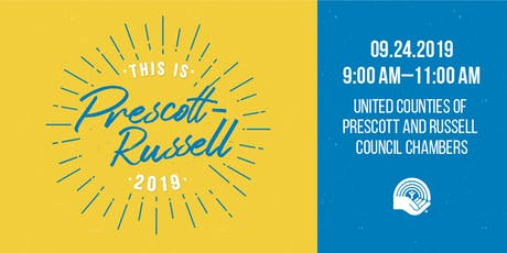 This is Prescott-Russell 2019 tickets