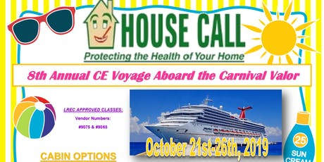 House Call Annual CE Cruise tickets