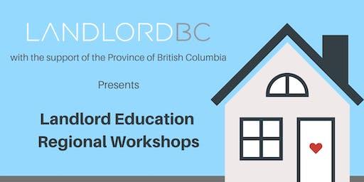 Landlord Education – Regional Workshops, Kamloops