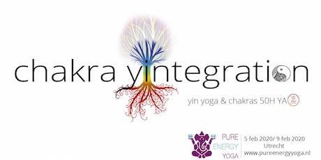 Yin Yoga Opleiding - Yin Yoga & Chakra's (50h YA) tickets